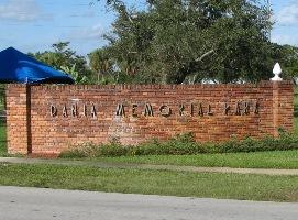 Dania Memorial Park Cemetery Records - Broward County, Florida